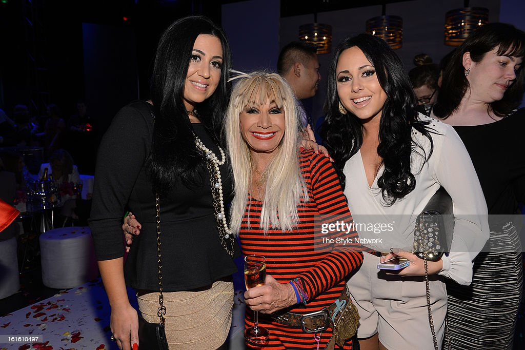 NETWORK - EVENTS -- Style Fashion Week Event -- Pictured: (l-r) Olivia Blois Sharpe, Betsey Johnson and Gigi Liscio at the Style Fashion Week Event on Tuesday, February 12, 2013 at Lincoln Center in New York --