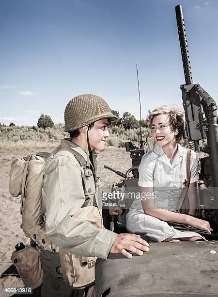 WWII estilo de la imagen