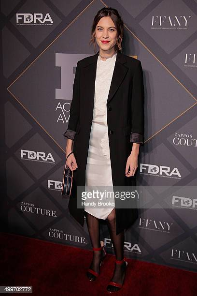 Style influencer of the Year Alexa Chung attends the 29th FN Achievement Awards at IAC Headquarters on December 2 2015 in New York City