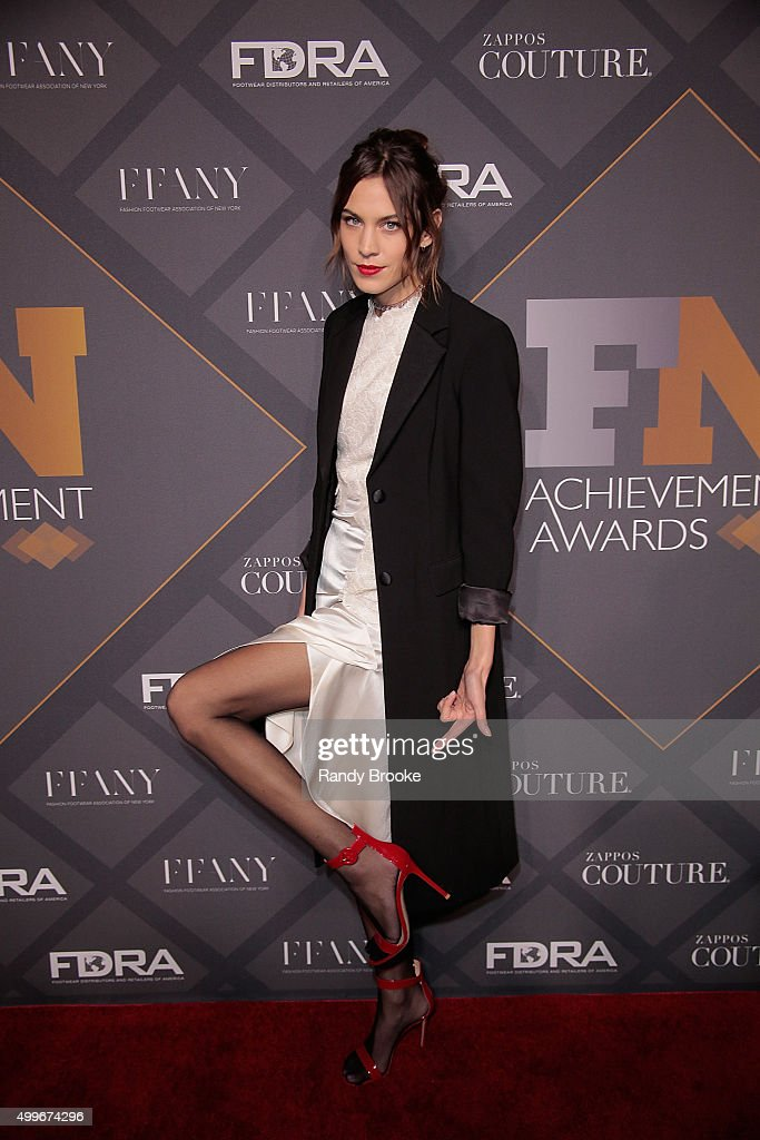 Style influencer of the Year, Model Alexa Chung attends the 29th FN Achievement Awards at IAC Headquarters on December 2, 2015 in New York City.