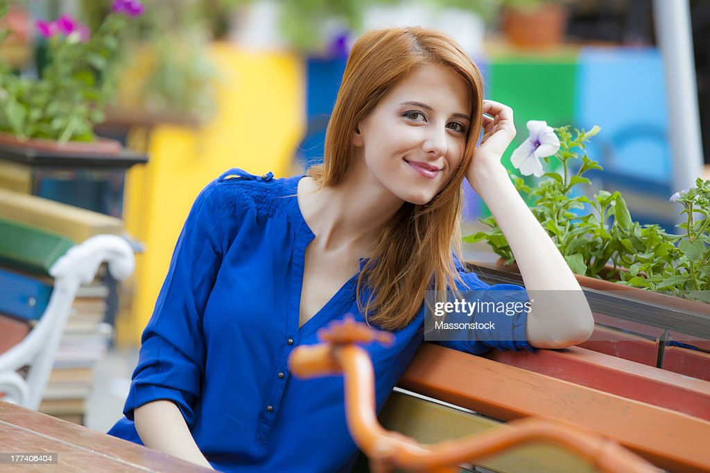 Properties leaves redhead on bench