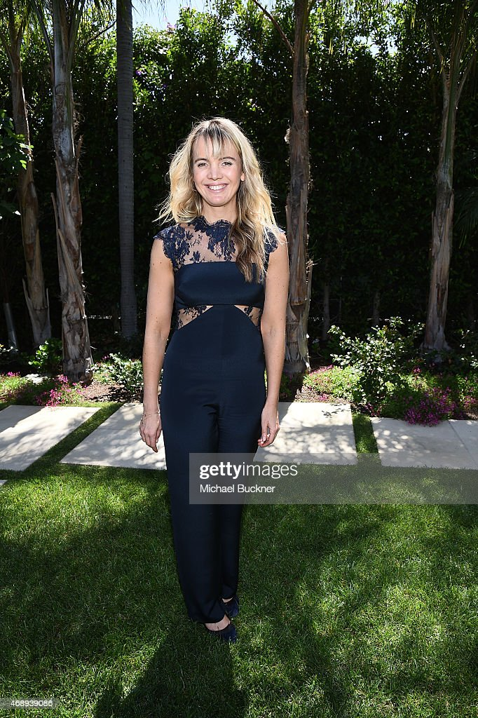 Style Sophia Banks attends the June Moss Launch Party hosted by Becca Tobin at a private residence on April 8 2015 in Beverly Hills California