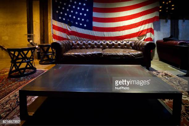 Styled seating section found on the second level of the main performance space of the Fillmore Philadelphia which has a capacity of 2460 The...