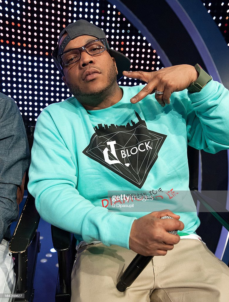 Styles P visits BET's '106 & Park' at BET Studios on March 21, 2013 in New York City.