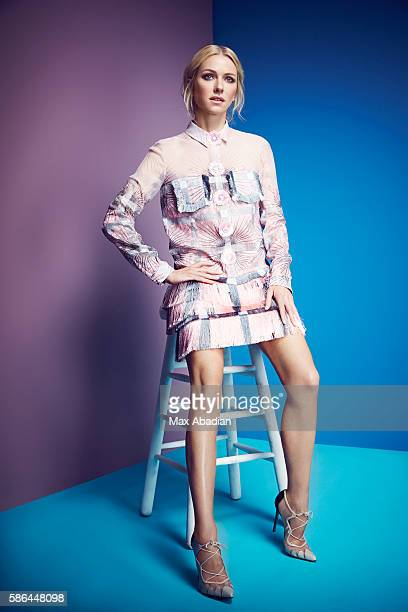 Arabella Greenhill Hair Ryan Trygstad Makeup Mary Wiles Nails Gina Viviano Embroidered silk chiffon dress by Marco de Vincenzo Leather shoes by...