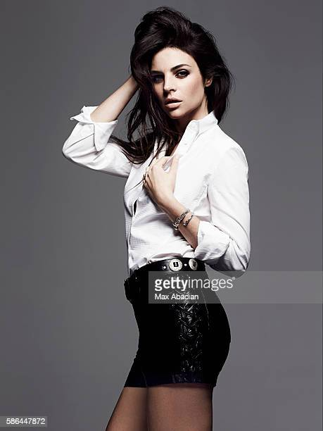 Gabriela Bilbao Hair Seiji Makeup Hung Vanngo Cotton shirt by Angel Schlesser Leather belt with coins by Zadig Voltaire Leather short by Maje...