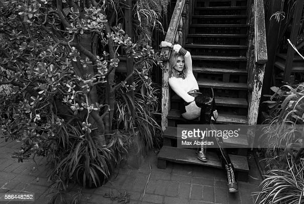 Juliana Schiavinatto Hair Mara Roszak Makeup Kate Lee Manicure Tom Bachik Cashmere and metallicknit sweater sequined net and silk georgette blouse...