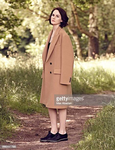 Nicola Rose Hair Ben Cooke Makeup Ashley Ward Wool Coat by Dries Van Noten Viscose Dress by Agnes b Calf hair shoes by Casadei