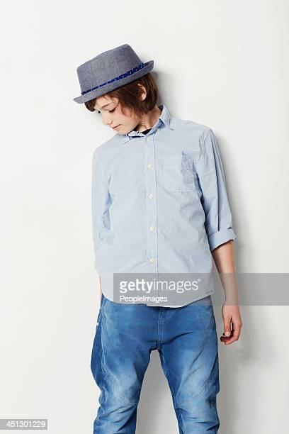 Stylish in blue