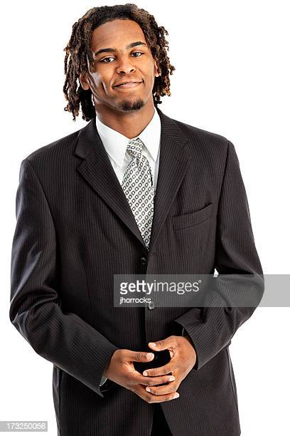 Stylish Modern Young African American Businessman