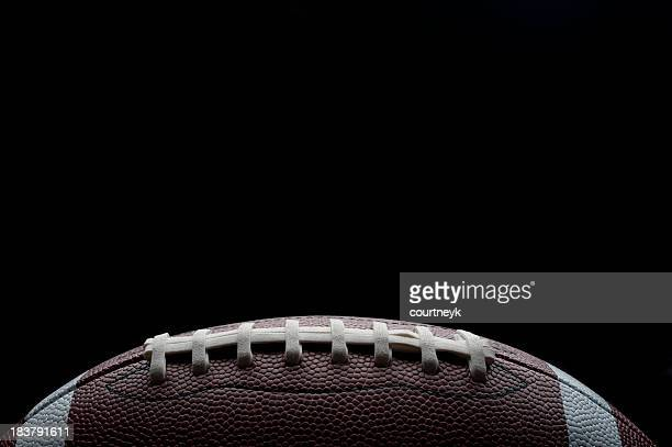 Stylish shot of a gridiron football