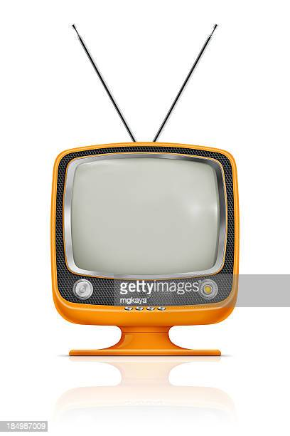 Elegante Vintage-Fernseher