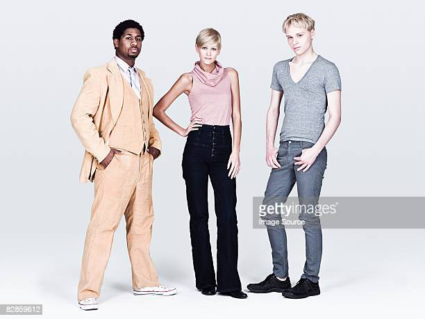 Stylish young people