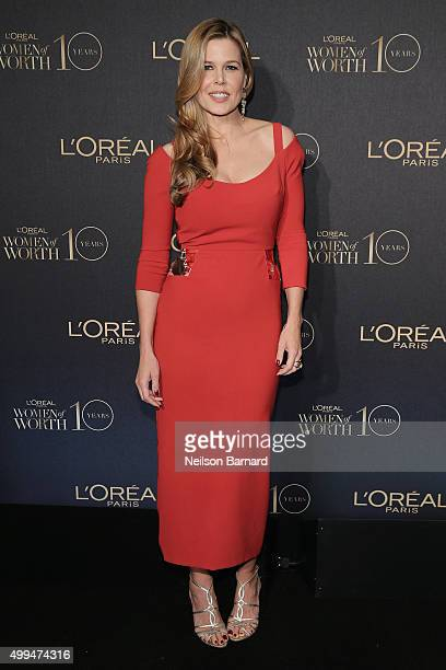 Stylist and Founder of Glam4Good Mary Alice Stephenson attends the L'Oreal Paris Women of Worth 2015 Celebration Arrivals at The Pierre Hotel on...