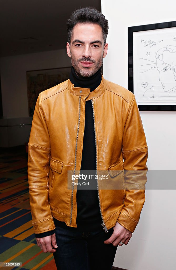 Stylist Antonio Corral-Calero attends the Gotham Magazine & Moroccanoil Celebrate With Step Up Women's Network event on February 18, 2013 in New York City.
