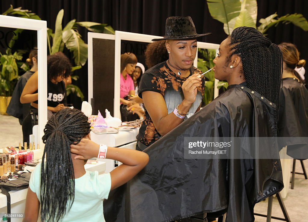 Stylist attends Fashion And Beauty @BETX presented by Progressive, Covergirl, Strength of Nature, Korbel and Macy's during the 2016 BET Experience on June 26, 2016 in Los Angeles, California.