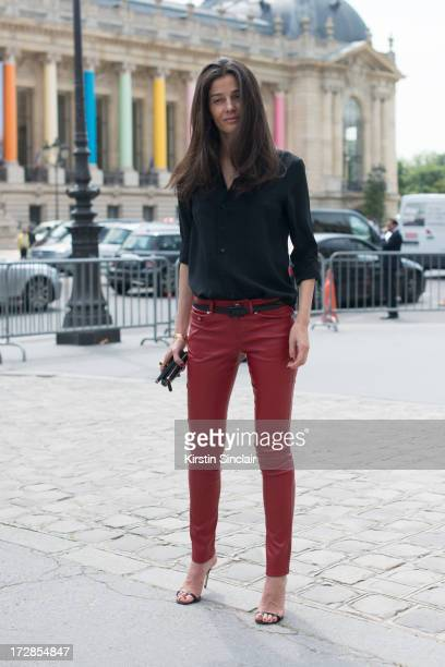 Stylist Barbara Martelo on day 2 of Paris Collections Womens Haute Couture on July 02 2013 in Paris France