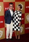 Stylist Brad Goreski and actress Jessica Alba attend the 14th Annual Warner Bros And InStyle Golden Globe Awards After Party held at the Oasis...