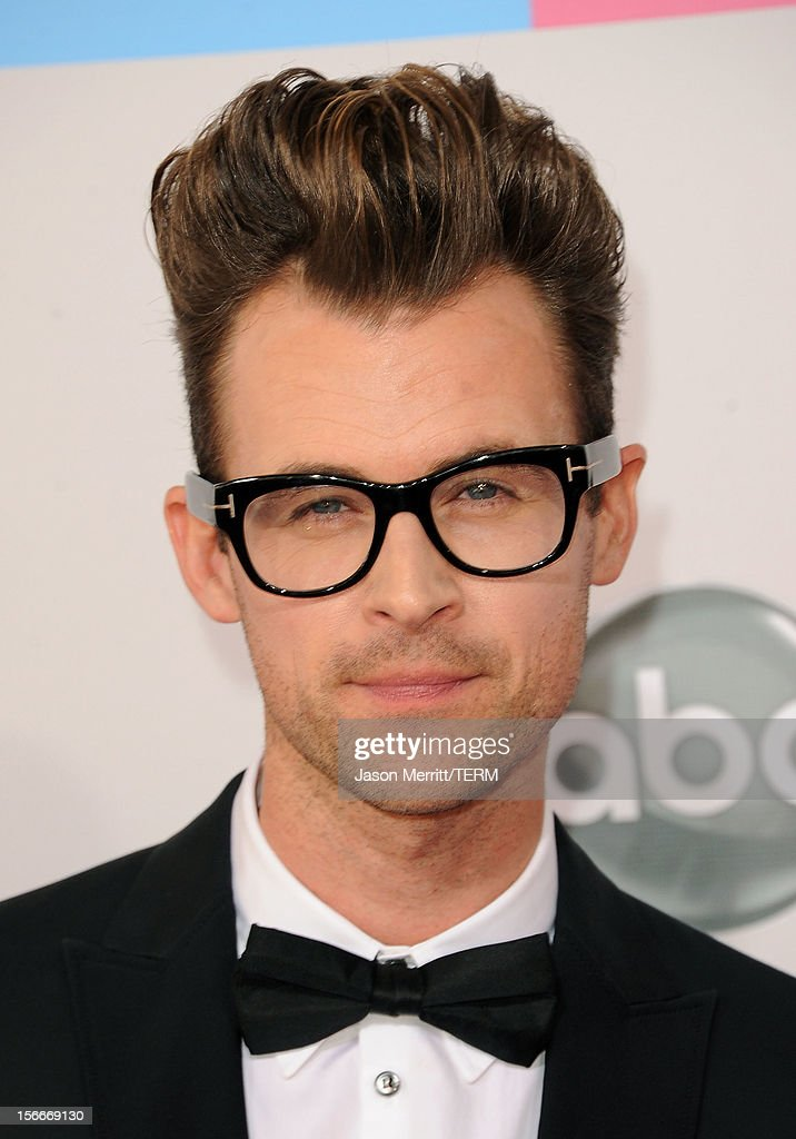 Stylist Brad Goreski attends the 40th American Music Awards held at Nokia Theatre L.A. Live on November 18, 2012 in Los Angeles, California.