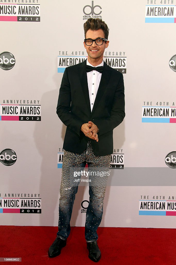 Stylist Brad Goreski attends the 40th Anniversary American Music Awards held at Nokia Theatre L.A. Live on November 18, 2012 in Los Angeles, California.