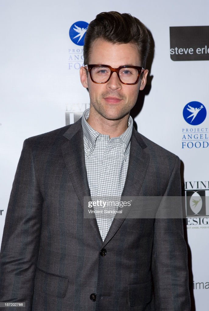 Stylist Brad Goreski attends the Divine Design 2012 Opening Rock 'n' Roll Party on November 29, 2012 in Beverly Hills, California.