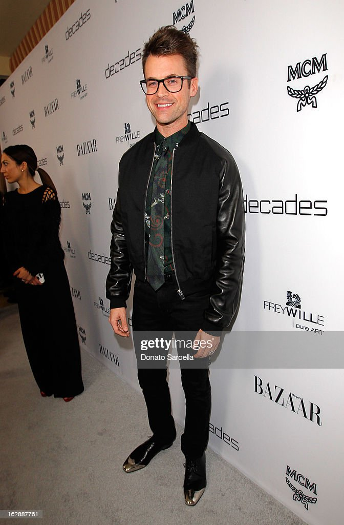 Stylist Brad Goreski attends the Dukes Of Melrose launch hosted by Decades, Harper's BAZAAR, and MCM on February 28, 2013 in Los Angeles, California.