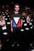Stylist Brad Goreski attends the J Mendel fashion show during MercedesBenz Fashion Week Spring 2014 at The Theatre at Lincoln Center on September 11...