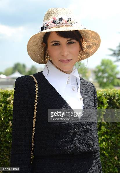 Stylist Caroline Sieber attends Royal Ascot 2015 at Ascot racecourse on June 16 2015 in Ascot England