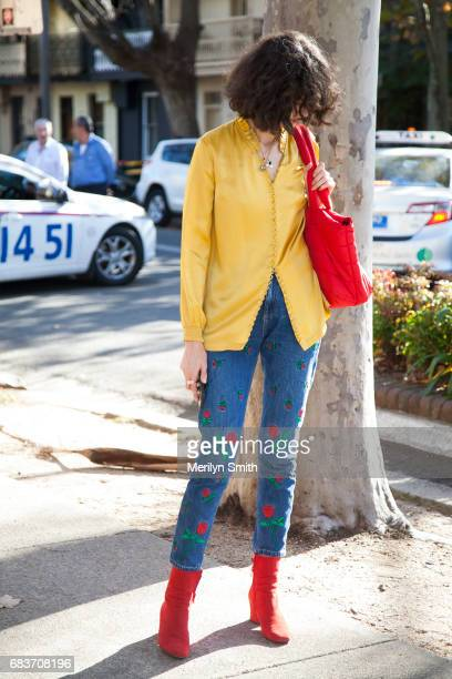 Stylist Chloe Hill during MercedesBenz Fashion Week Resort 18 Collections at Carriageworks on May 16 2017 in Sydney Australia
