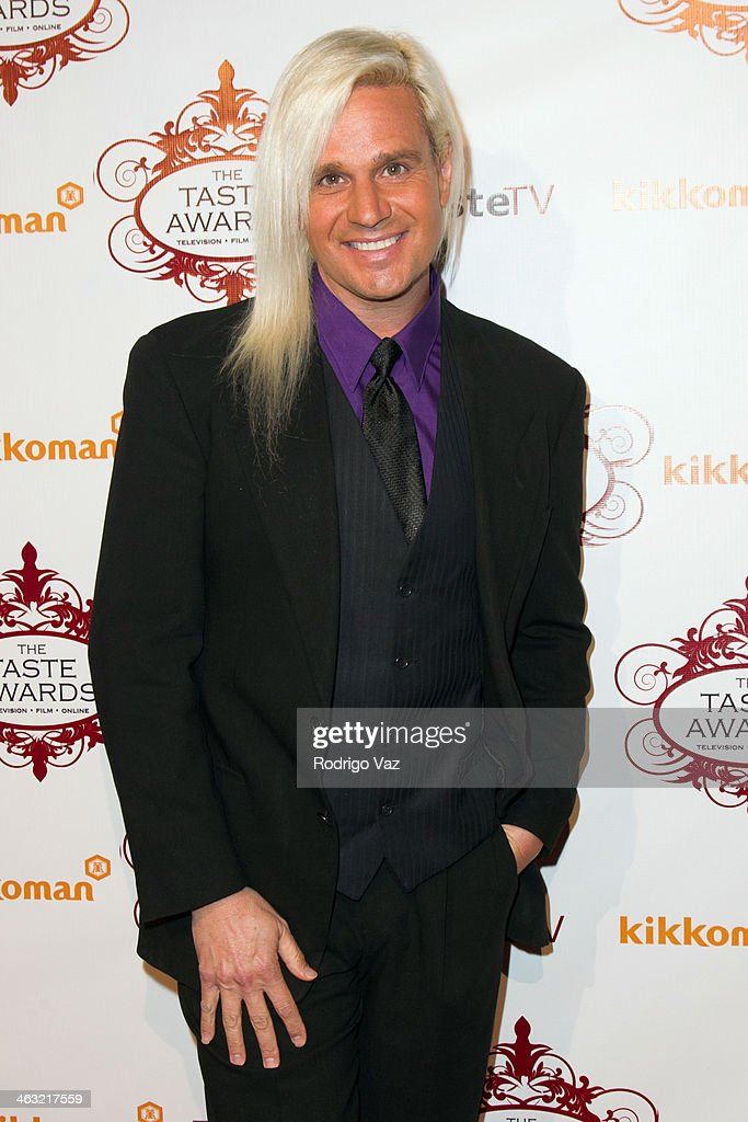 Stylist Daniel DiCriscio attends the 5th Annual Taste Awards at the Egyptian Theatre on January 16, 2014 in Hollywood, California.