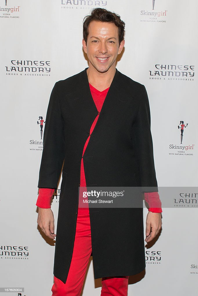 Stylist <a gi-track='captionPersonalityLinkClicked' href=/galleries/search?phrase=Derek+Warburton&family=editorial&specificpeople=5711826 ng-click='$event.stopPropagation()'>Derek Warburton</a> attends Chinese Laundry by Kristin Cavallari Launch Party on December 4, 2012 in New York City.