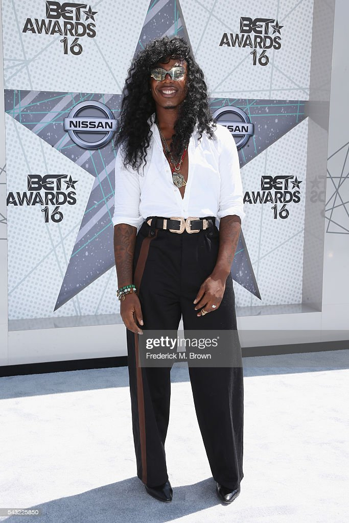 Stylist EJ King attends the 2016 BET Awards at the Microsoft Theater on June 26, 2016 in Los Angeles, California.