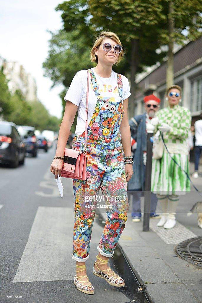 Street Style - Paris Fashion Week - Menswear Spring/Summer 2016 : Day Three