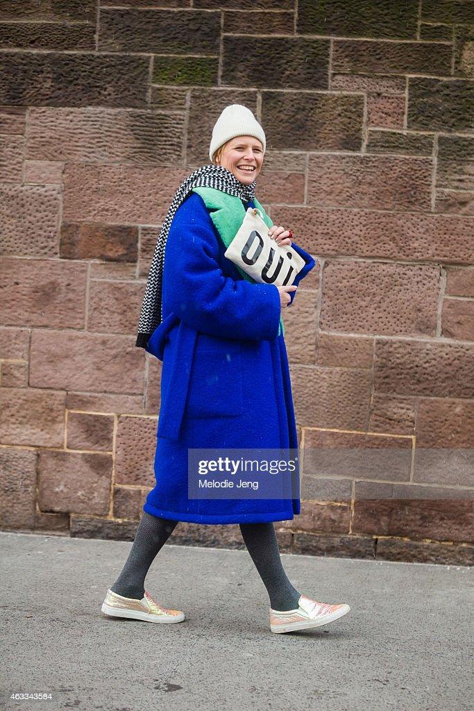 Street Style - Day 2 - New York Fashion Week Fall 2015