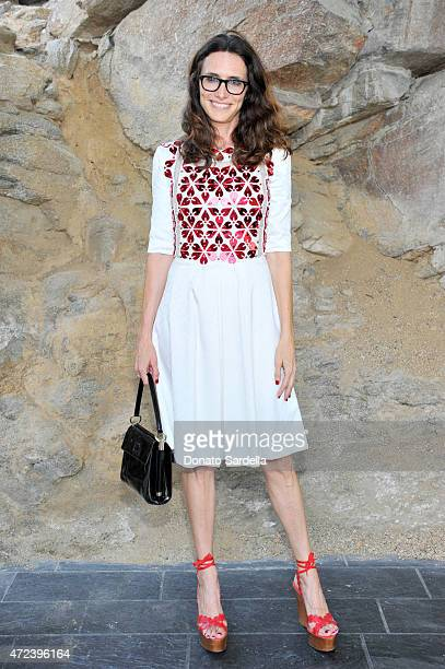 Stylist Elizabeth Stewart attends the Louis Vuitton Cruise 2016 Resort Collection shown at a private residence on May 6 2015 in Palm Springs...