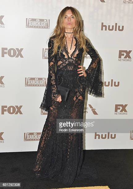 Stylist Erica Pelosini attends FOX and FX's 2017 Golden Globe Awards after party at The Beverly Hilton Hotel on January 8 2017 in Beverly Hills...