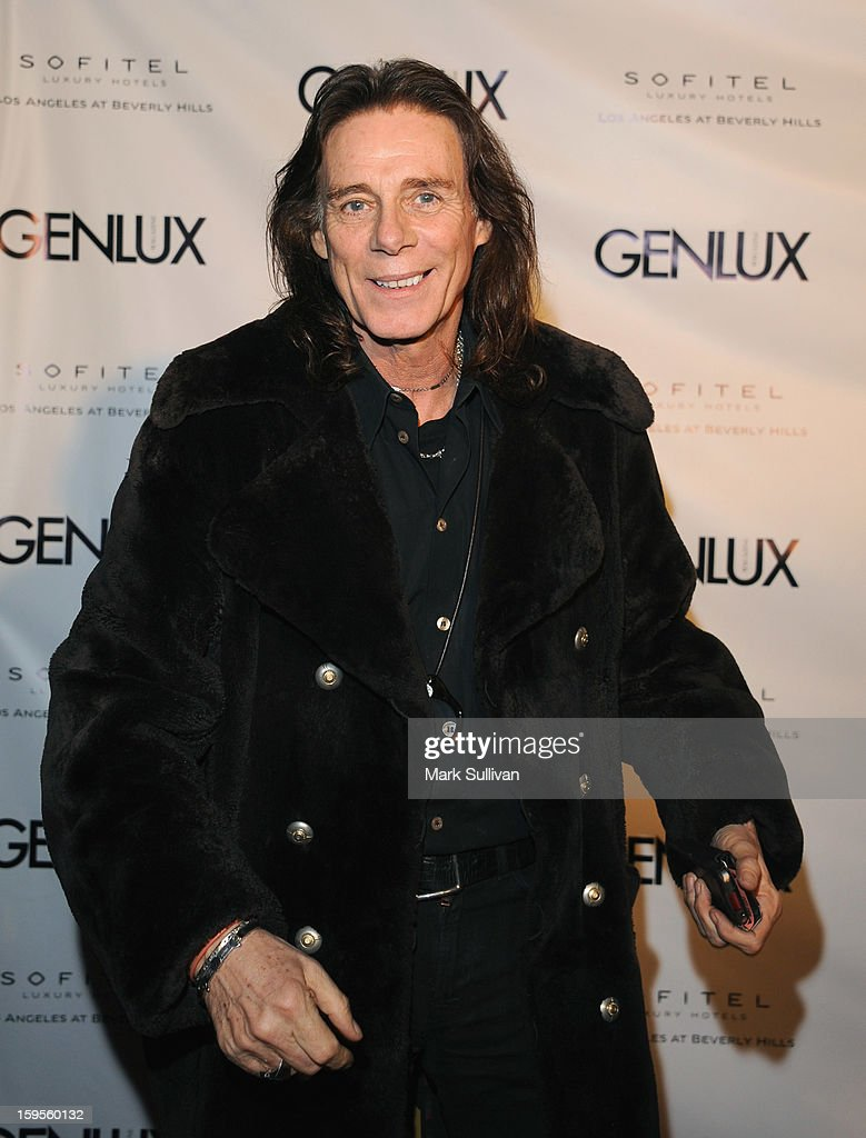 Stylist George Blodwell arrives for the opening of Riviera 31 At Sofitel Los Angeles on January 15, 2013 in Los Angeles, California.