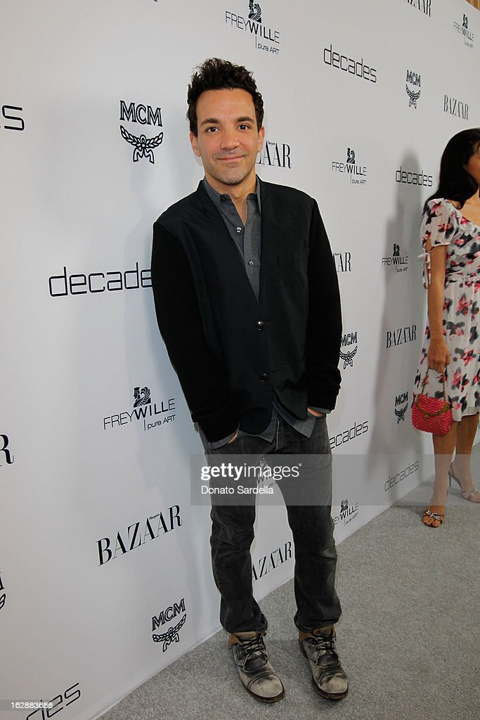 Stylist George Kotsiopoulos attends the Dukes Of Melrose launch hosted by Decades, Harper's BAZAAR, and MCM on February 28, 2013 in Los Angeles, California.