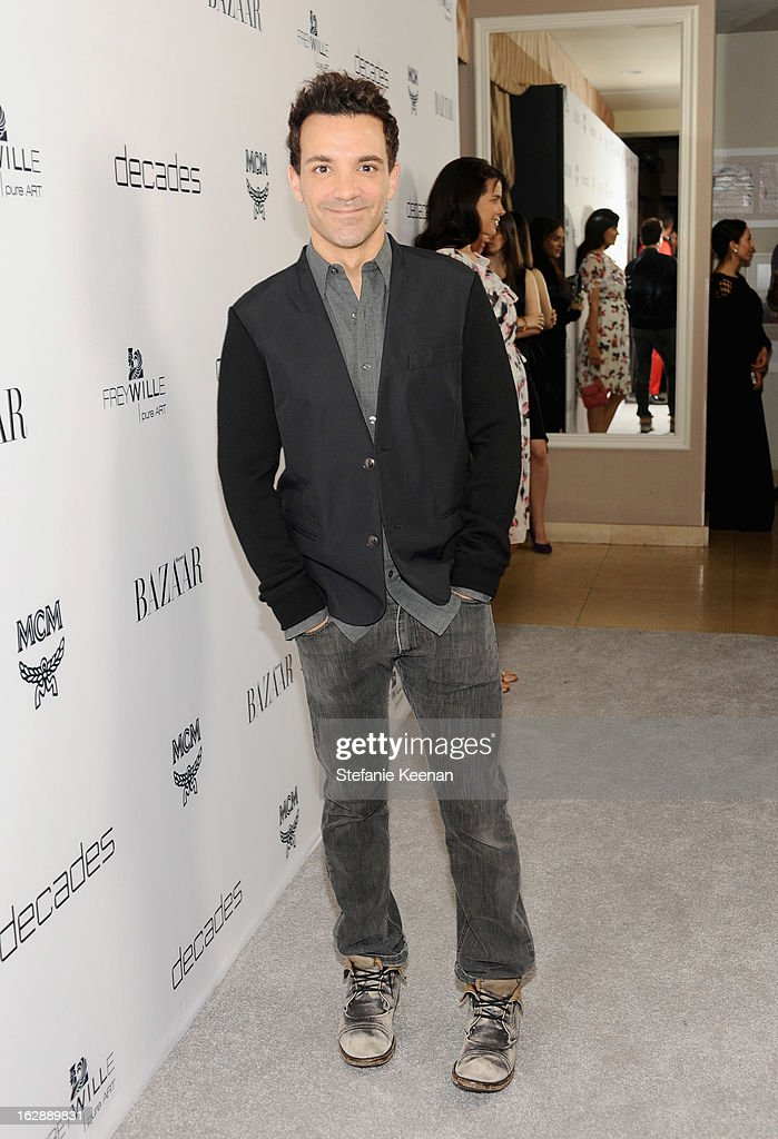 Stylist George Kotsiopoulos attends the Harper's BAZAAR celebration of the launch of Bravo TV's 'The Dukes of Melrose' starring Cameron Silver and Christos Garkinos at Sunset Tower on February 28, 2013 in West Hollywood, California.