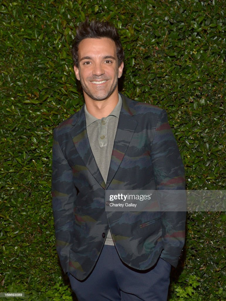 Stylist George Kotsiopoulos attends Vogue and MAC Cosmetics dinner hosted by Lisa Love and John Demsey in honor of Prabal Gurung at the Chateau Marmont on Monday, May 13, 2013 in Los Angeles, California.