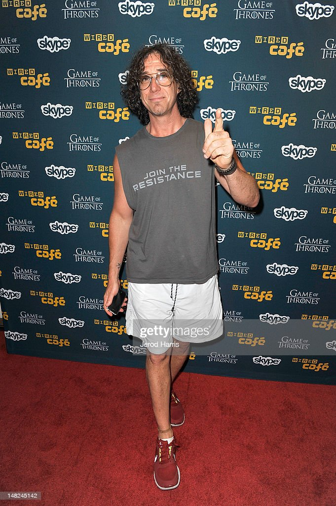 Stylist Howard Cirella attends WIRED Cafe at Comic-Con held at Palm Terrace at the Omni Hotel on July 12, 2012 in San Diego, California.