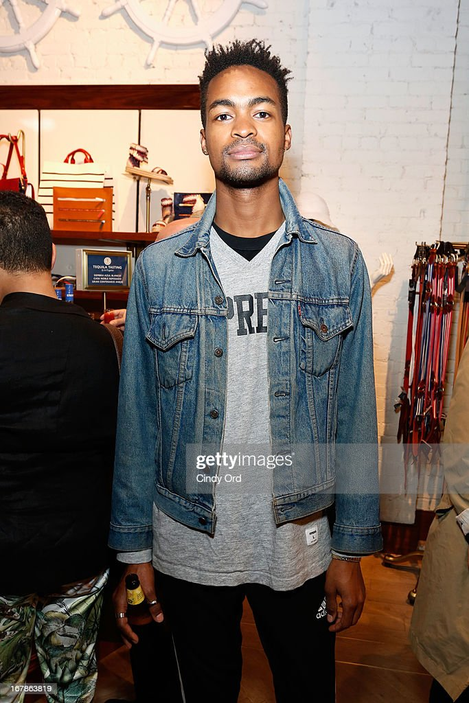Stylist Ian Bradley attends Tommy Hilfiger celebrates redesigned Soho store with event for Fresh Air Fund on May 1, 2013 in New York City.