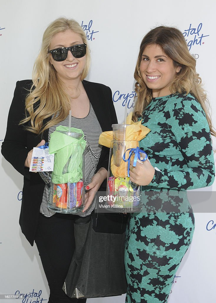 Stylist Jacqueline Rezak and Jacklyn Lerner attend Giuliana Rancic And Crystal Light Liquid Toast Red Carpet Style at SLS Hotel on February 26, 2013 in Los Angeles, California.