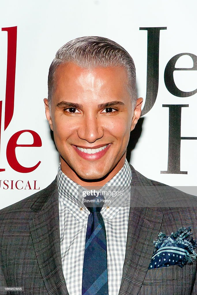 Stylist <a gi-track='captionPersonalityLinkClicked' href=/galleries/search?phrase=Jay+Manuel&family=editorial&specificpeople=557434 ng-click='$event.stopPropagation()'>Jay Manuel</a> attends the Broadway opening night of 'Jekyll & Hyde The Musical' at the Marquis Theatre on April 18, 2013 in New York City.