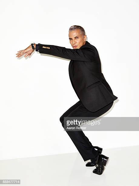 Stylist Jay Manuel is photographed for Glamour Magazine in 2014 in New York City PUBLISHED IMAGE