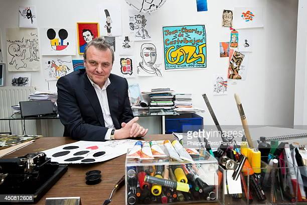 Stylist JeanCharles de Castelbajac is photographed for Paris Match on April 9 2013 in Paris France