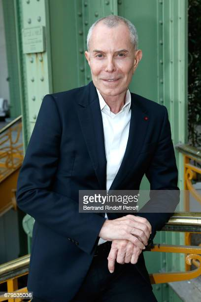 Stylist JeanClaude Jitrois attends the 'Revelations' Fair at Balcon d'Honneur du Grand Palais on May 5 2017 in Paris France