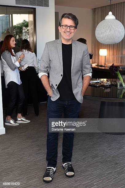 Stylist Joseph Cassell attends W Hotels Barneys New York and the CFDA join Taylor Tomasi Hill in Hosting a Brunch for Sara Beltran of Dezso at W...