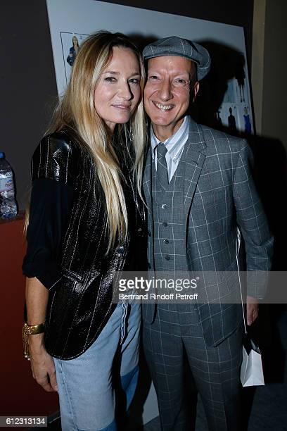 Stylist Julie de Libran and photographer Ali Mahdavi pose after the Sonia Rykiel show as part of the Paris Fashion Week Womenswear Spring/Summer 2017...