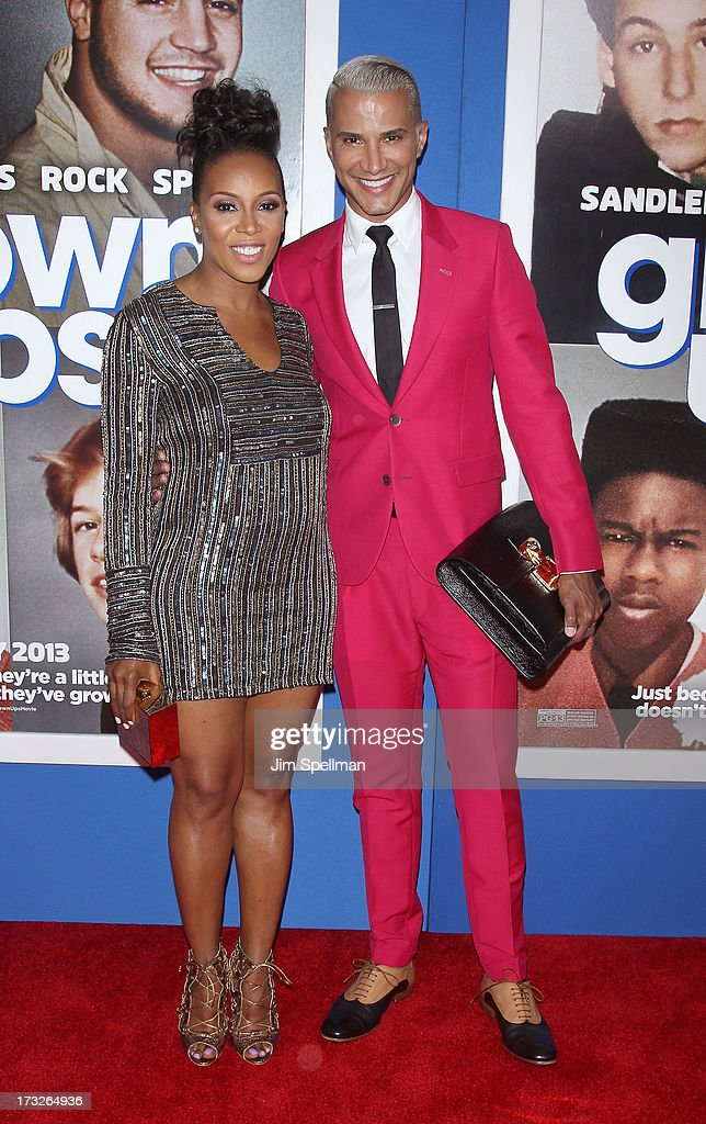 Stylist June Ambrose and Make-up Artist Jay Manuel attend the 'Grown Ups 2' New York Premiere at AMC Lincoln Square Theater on July 10, 2013 in New York City.